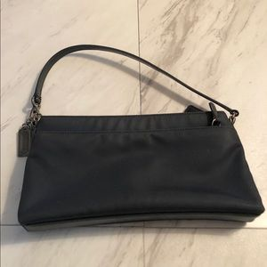 Coach evening bag leather